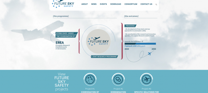 Future Sky Safety website is online